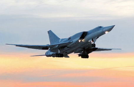 Бомбардировщик Ту-22.
