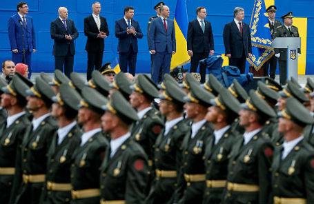 Парад в честь Дня независимости Украины, 24 августа 2016 года.