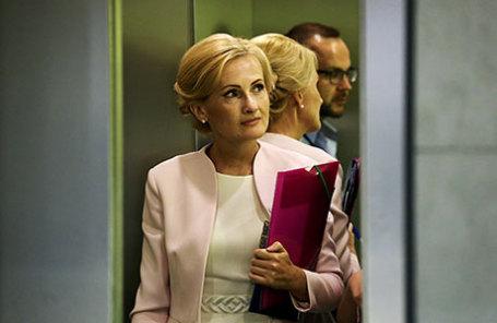 Председатель комитета Государственной думы по безопасности и противодействию коррупции Ирина Яровая.