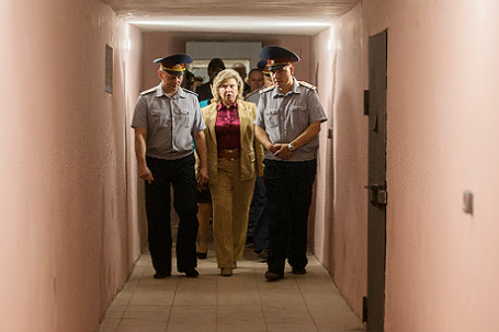 Уполномоченный по правам человека в РФ Т.Москалькова посетила тюрьму №2 УФСИН РФ по Владимирской области.