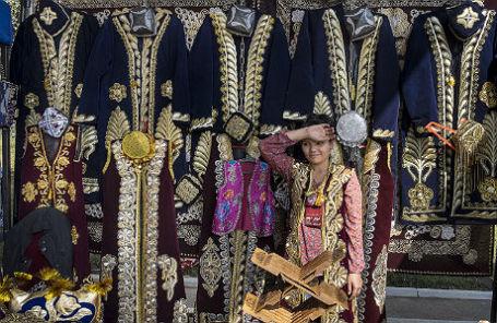 На одном из базаров Ташкента.