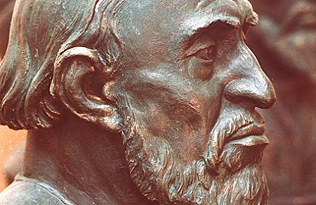 Реконструированный портрет по черепу Ивана Грозного.