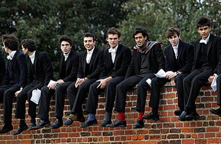 Студенты Итона.