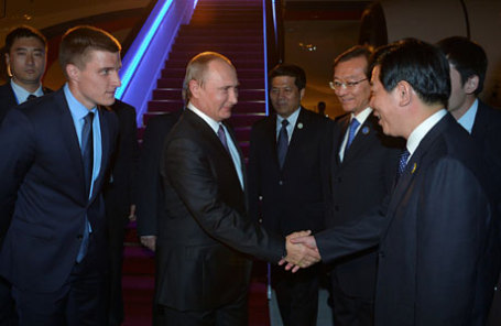 Президент России Владимир Путин прибыл на саммит G20 в Ханчжоу, Китай.