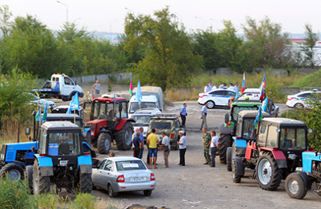 Награнице Московской области задержаны шесть участников «тракторного марша» на столицу Российской Федерации