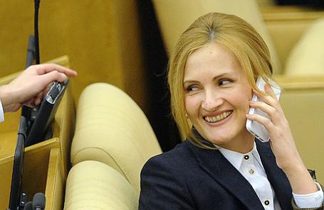 Председатель комитета ГД по безопасности и противодействию коррупции Ирина Яровая.