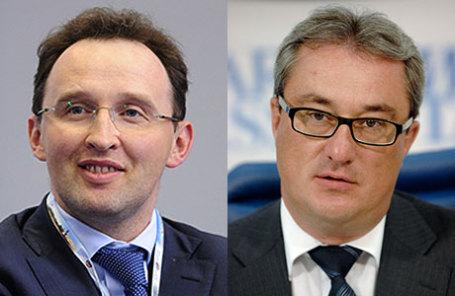 Бывший глава «Вымпелкома» Михаил Слободин (слева) и бывший глава Республики Коми Вячеслав Гайзер.