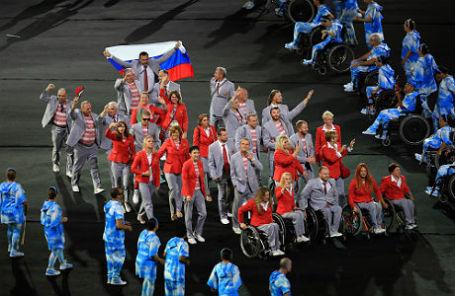 Церемония открытия XV Паралимпийских летних игр в Рио-де-Жанейро.