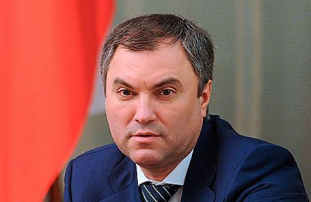 Вячеслав Володин.