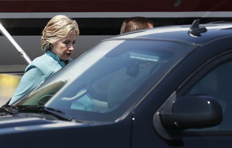 Предвыборная кампания кандидата в президенты США от Демократической партии Хиллари Клинтон в Калифорнии.