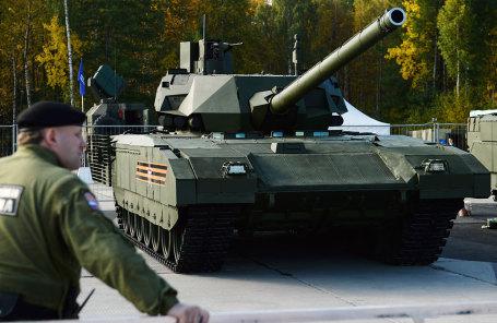 Перспективный основной боевой танк (ОБТ) Т-14 «Армата».