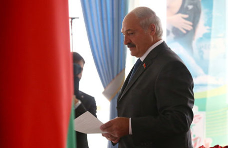Президент Белорусcии Александр Лукашенко.