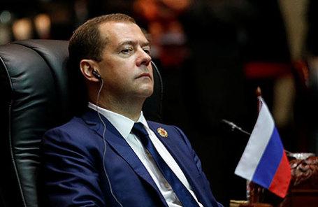 Премьер-министр Дмитрий Медведев.