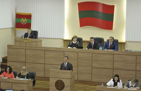 Заседание Верховного совета Приднестровья.