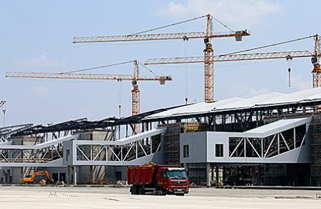 Строительство аэропорта «Южный» в Ростовской области.