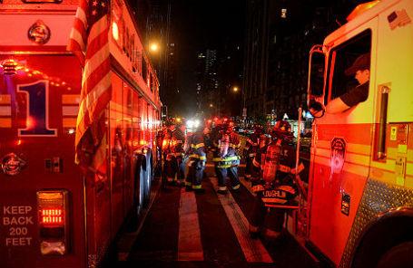 После взрыва в Нью-Йорке, 17 сентября.