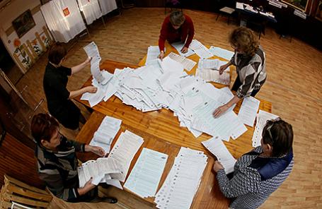 Первые результаты думских выборов: ЛДПР усилила позиции, ЕР, КПРФ иСР снизили