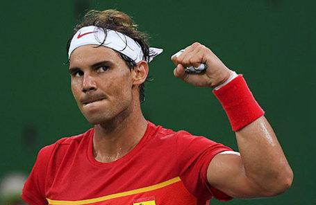 Теннисист Рафаэль Надаль.