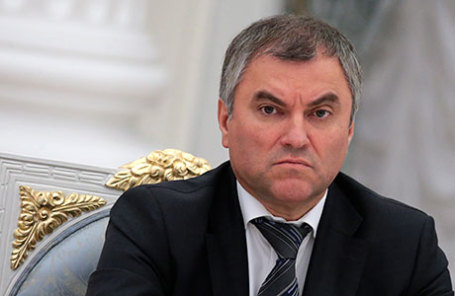 Первый заместитель руководителя администрации президента РФ Вячеслав Володин.