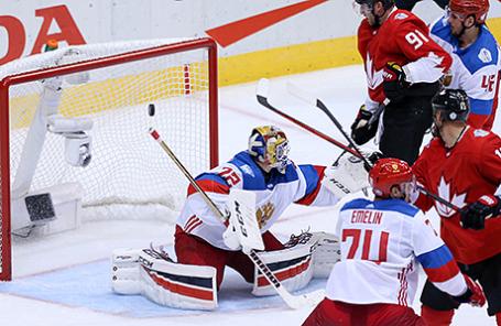 1/2 финала Кубка мира по хоккею - 2016: Канада - Россия - 5:3.