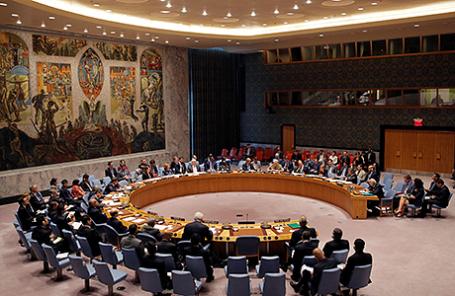 Заседание Совета Безопасности ООН по Сирии.