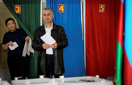 Референдум по внесению изменений в конституцию Азербайджана, Баку.