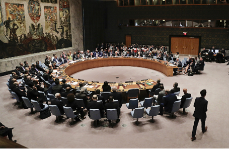 Заседание Совета безопасности ООН по ситуации на Ближнем Востоке в рамках 71-й сессии Генеральной ассамблеи.