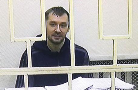 Во время рассмотрения вопроса о законности ареста врио начальника управления «Т» антикоррупционного главка МВД Дмитрия Захарченко, обвиняемого в получении взятки, злоупотреблении полномочиями.