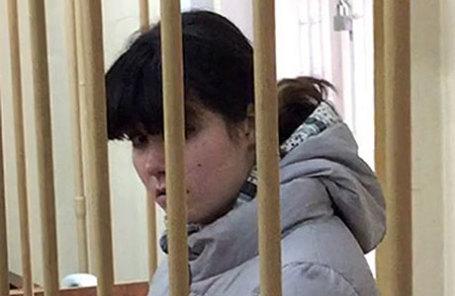 Студентка МГУ Варвара Караулова, обвиняемая в попытке участия в деятельности ИГ.