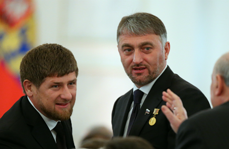Глава Чеченской Республики Рамзан Кадыров и депутат Государственной Думы РФ Адам Делимханов (слева направо)