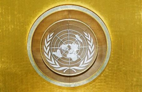 Герб ООН.