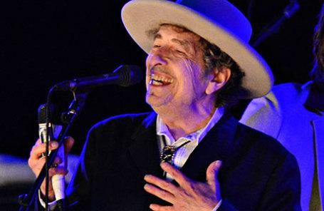 Певец Боб Дилан.