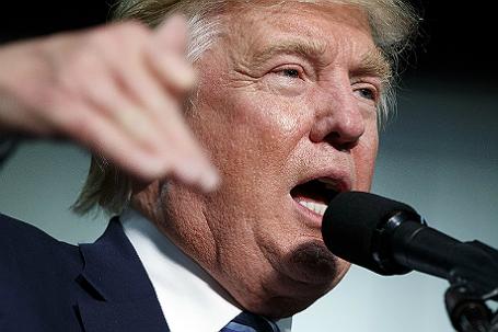 Предвыборная кампания кандидата в президенты США от Республиканской партии Трампа в штате Северная Каролина.