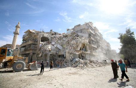 Окрестности Алеппо.