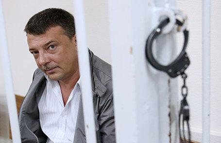 Начальник управления собственной безопасности Следственного комитета России Михаил Максименко, задержанный по подозрению в превышении должностных полномочий и получении взяток.