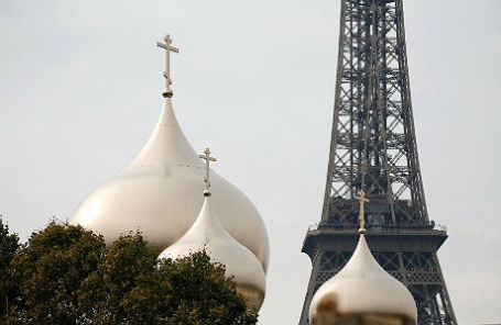 Свято-Троицкий собор и русский духовно-культурный центр в Париже.