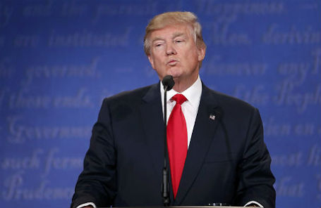 Кандидат в президенты США Дональд Трамп.