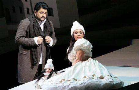 Анна Нетребко и Юсиф Эйвазов в опере «Манон Леско».