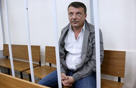 Михаил Максименко, задержанный по подозрению в превышении должностных полномочий и получении взяток от представителей криминального сообщества.