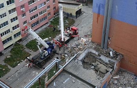 В многоэтажном жилом доме в Рязани произошел взрыв бытового газа.