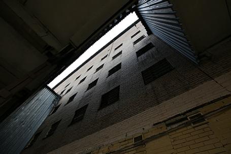 Здание СИЗО №5 в Москве.