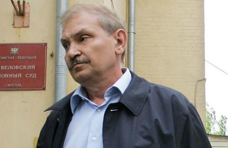 Бывший первый заместитель генерального директора компании «Аэрофлот» Николай Глушков.