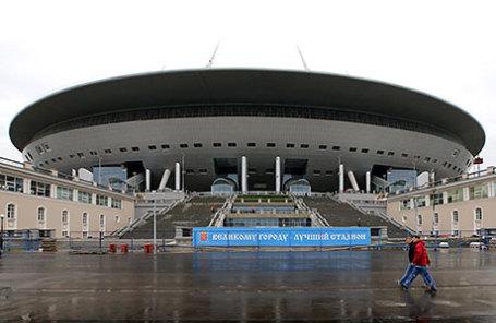 Стадион «Зенит-Арена».