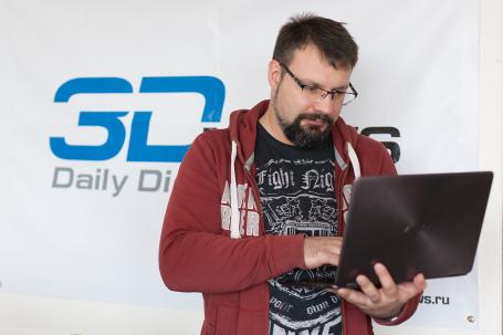 Денис Нивников, главный редактор портала 3DNews