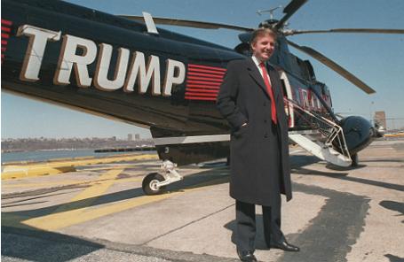 Дональд Трамп, 1988 год.