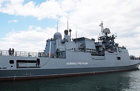 Фрегат «Адмирал Григорович».