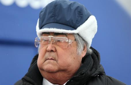 Губернатор Кемеровской области Аман Тулеев