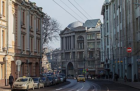 Улица Варварка в Москве.