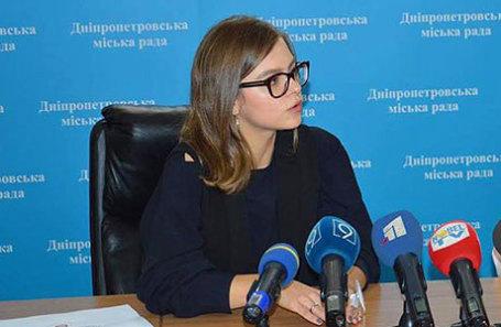 Заместитель главы МВД Украины Анастасия Деева.