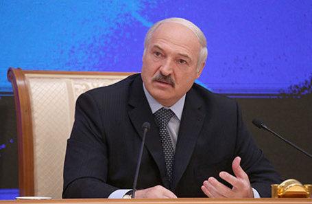 Президент Белорусии Александр Лукашенко.